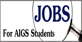 AIGS : AIGS Job Opportunity